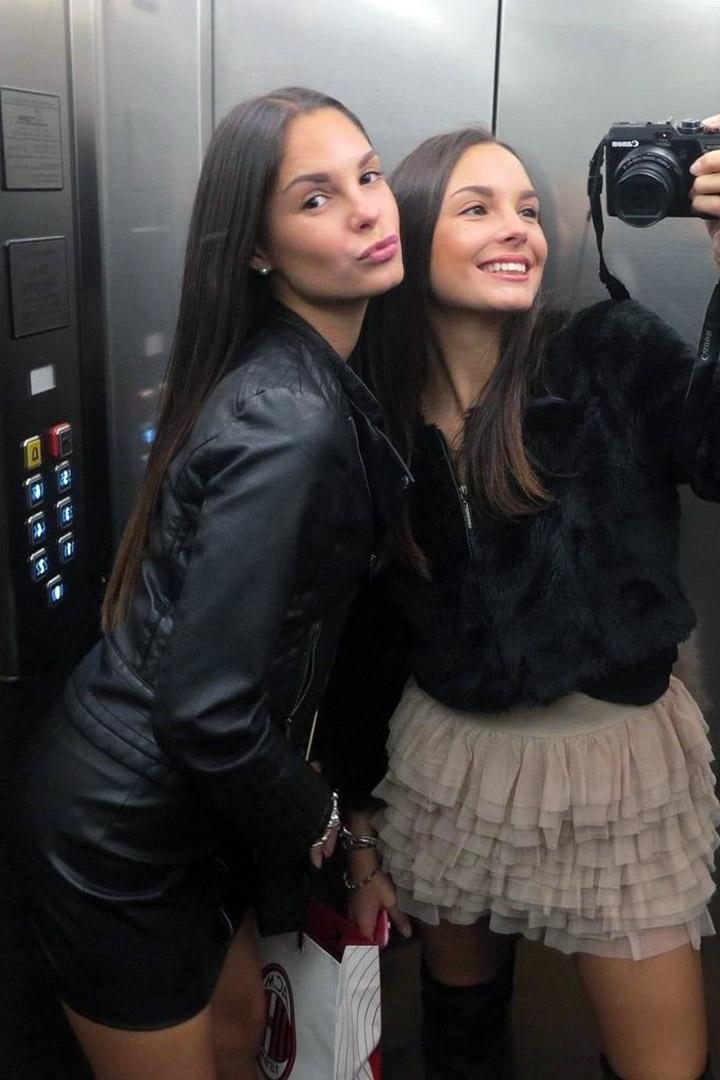 Milena and Yana
